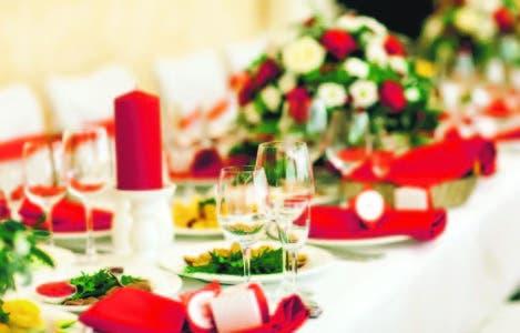 Una cena NAVIDEÑA al estilo de los hoteles