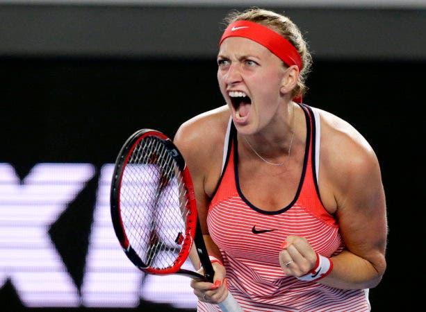 La tenista zurda, de 26 años, sufrió cortes en los dedos de su mano izquierda.AP