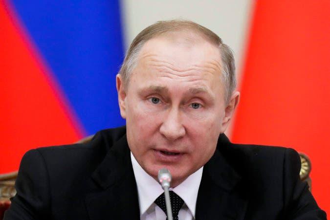 Fotografía de archivo del presidente ruso, Vladimir Putin.
