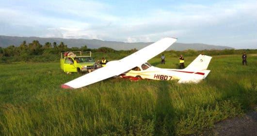 Reportan accidente de aeronave con tres personas a bordo en Constanza