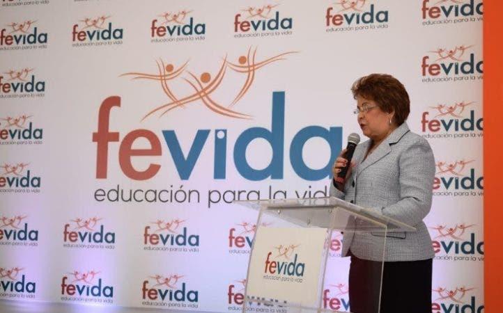 Alejandrina Germán, ministra de Educación Superior.