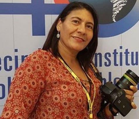Restos de reportera gráfica Carmen Suárez serán expuestos hoy en Funeraria Blandino