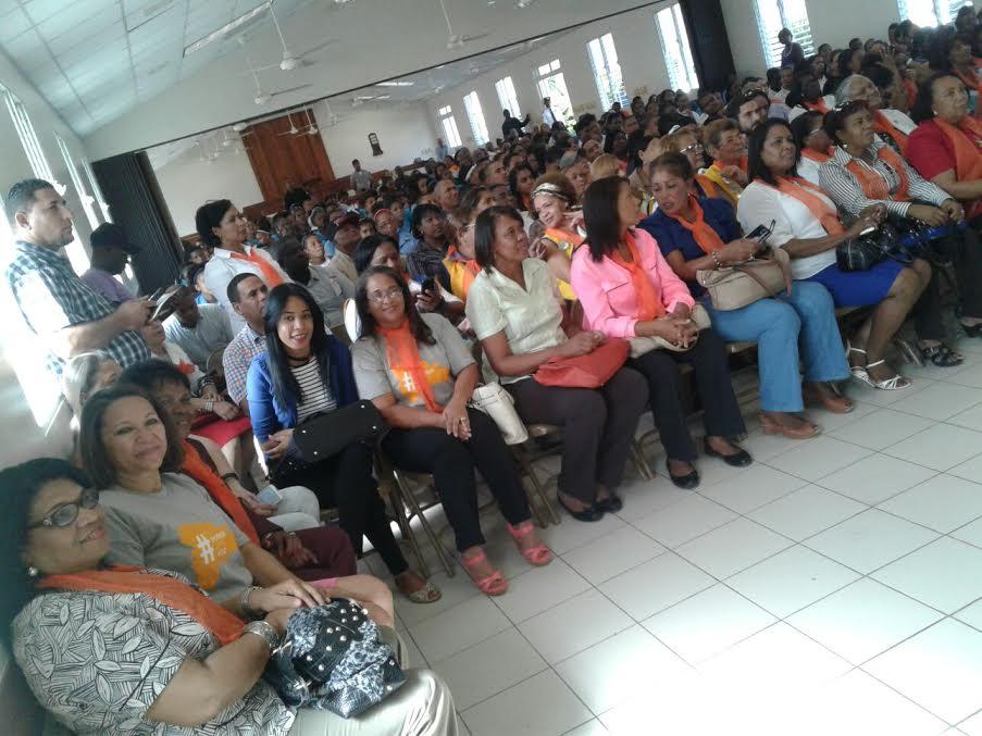 Procuradora San Cristóbal asegura disminuye violencia intrafamiliar