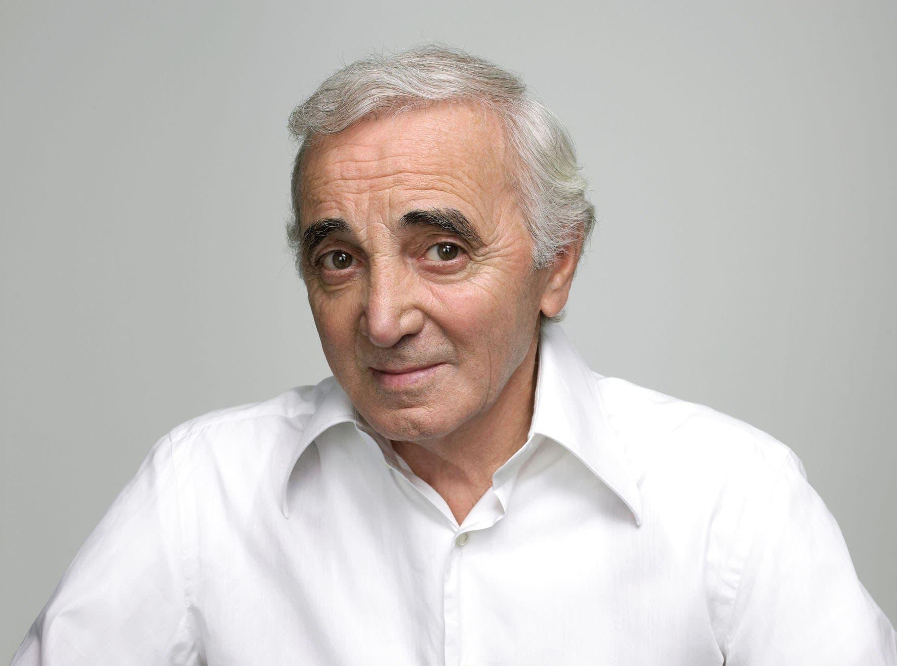 Charles Aznavour:  Hay que salvar a la humanidad de quienes levantan barreras