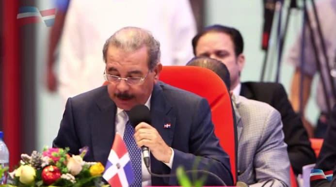 Danilo Medina llama a países del SICA trabajar en conjunto a favor de cada pueblo