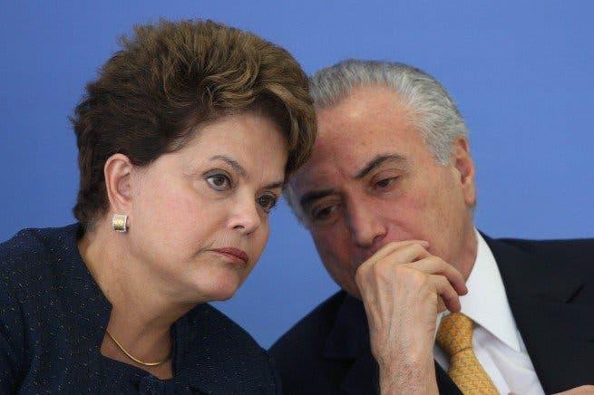 Registran gráficas en investigación de cuentas de campaña de Rousseff y Temer