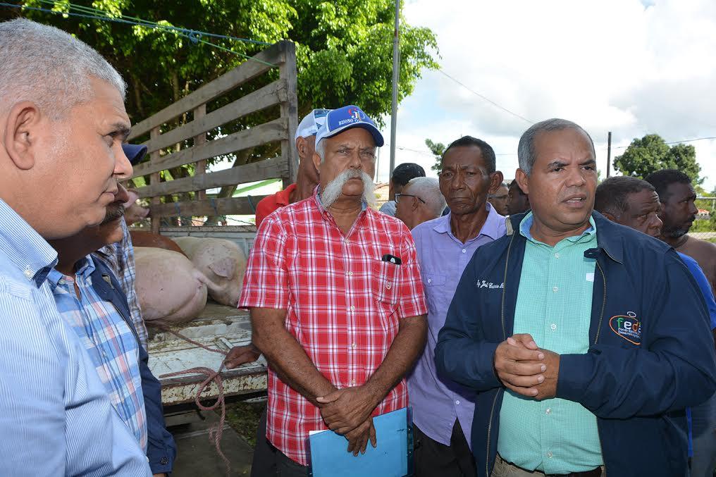 EL FEDA acude en ayuda de productores de afectados de Puerto Plata