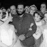 Fidel Castro y familia