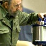 Fidel Castro y su olla