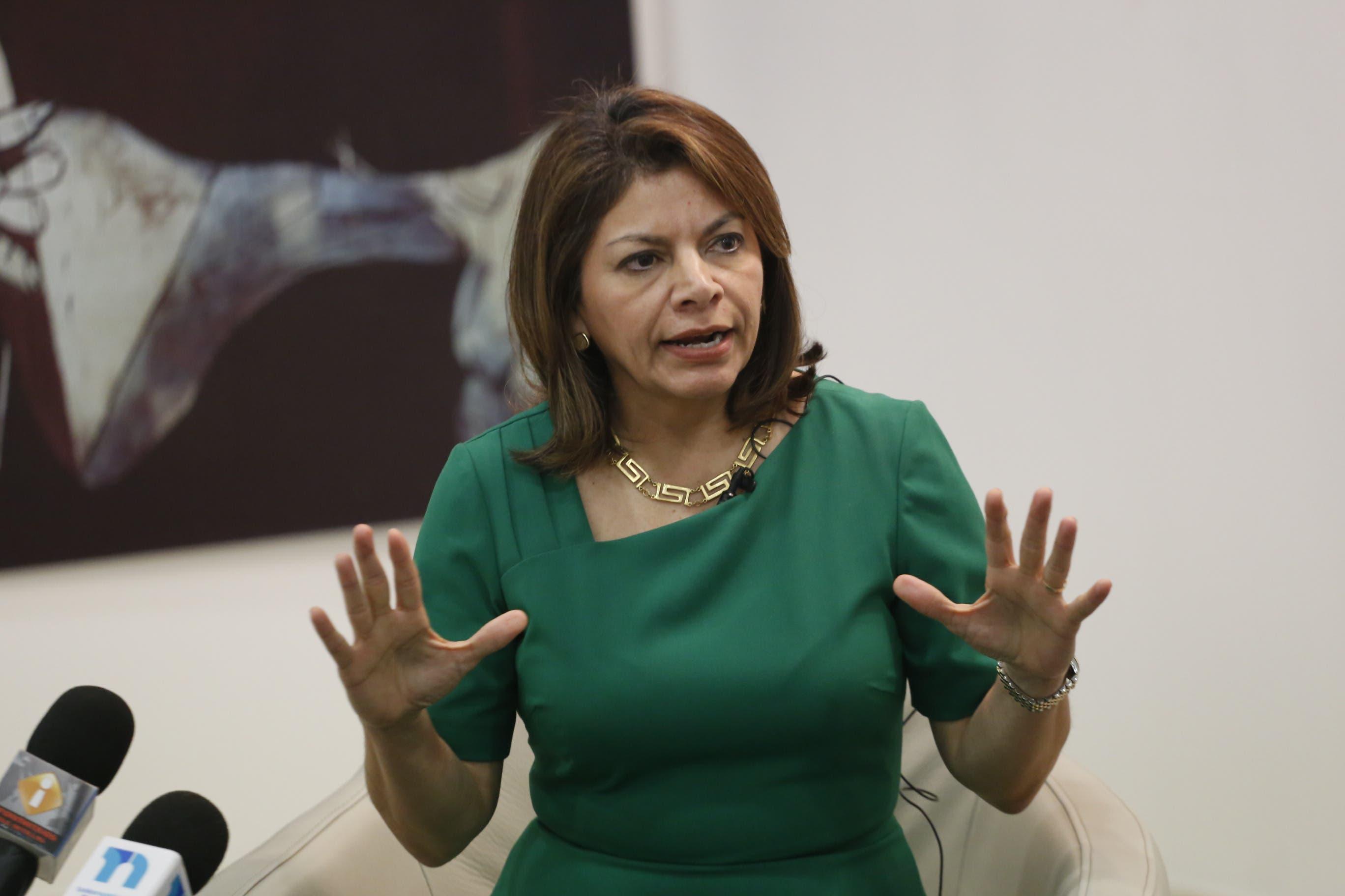 Chinchilla está favor libertad en Venezuela y Cuba