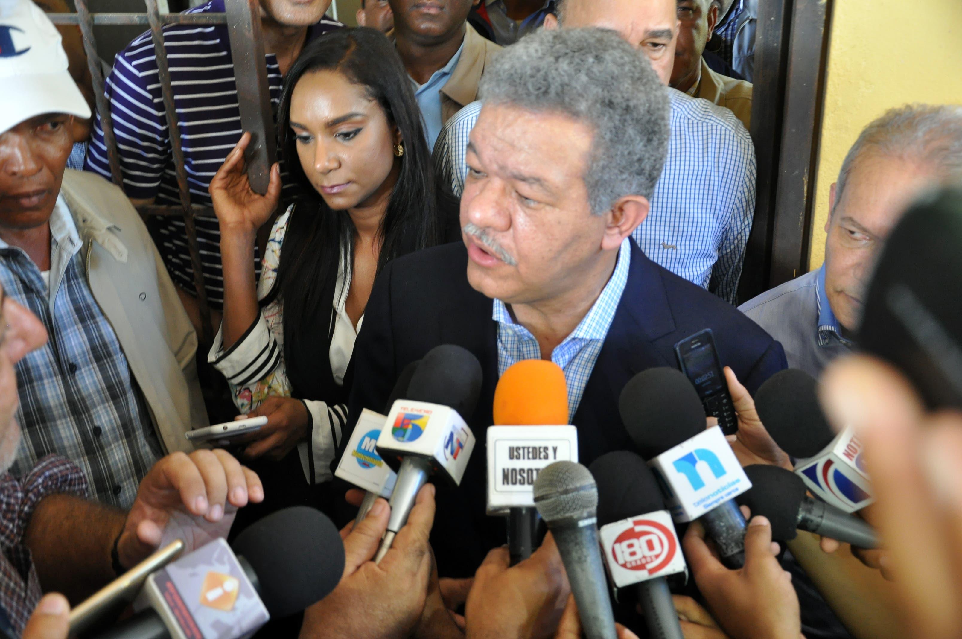 Leonel cree Danilo es quien debe hablar de reelección