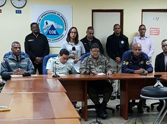 COE reporta más de 18 mil desplazados y 128 viviendas destruidas por paso María