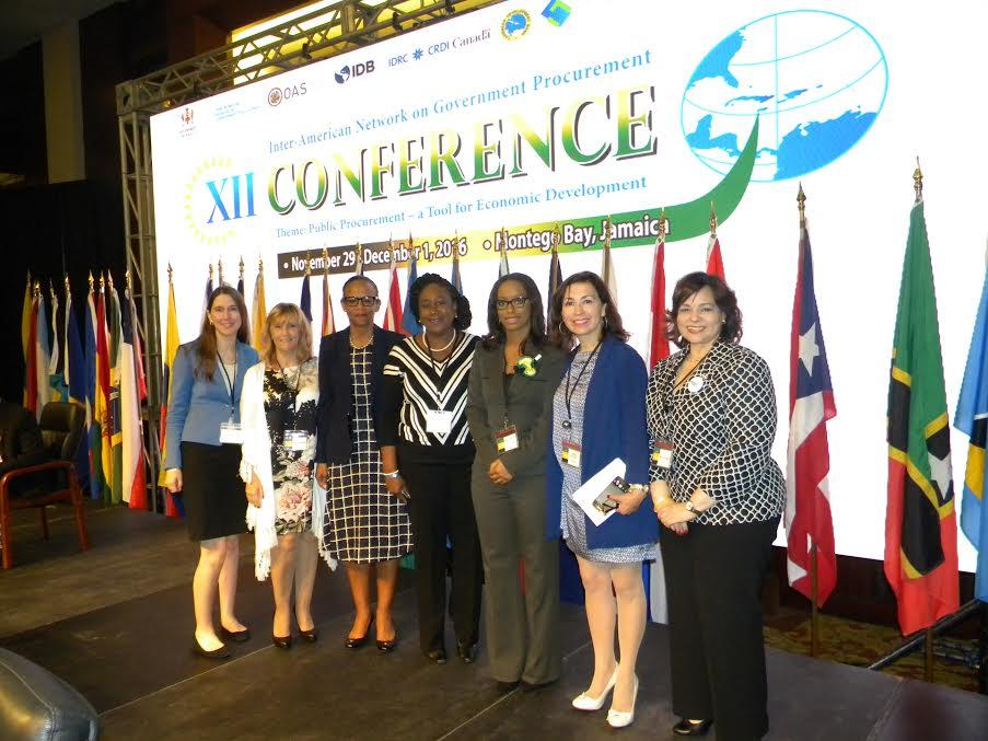 Red Interamericana de Compras Gubernamentales agota reunión en Jamaica