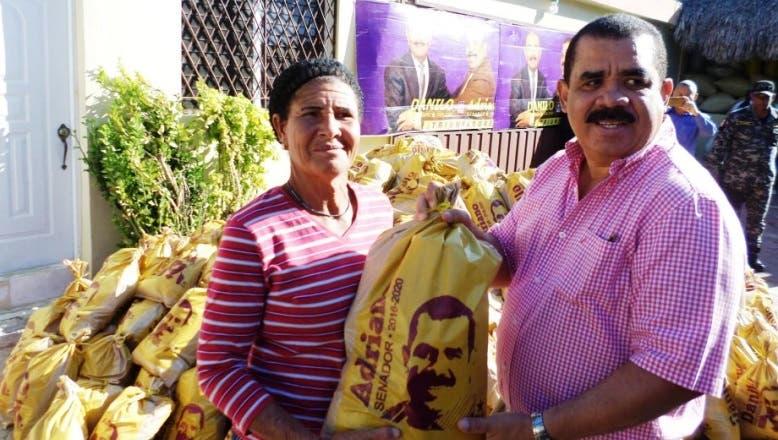 Senador dice Elías Piña dispone de 900 mil tareas para la siembra de rubros