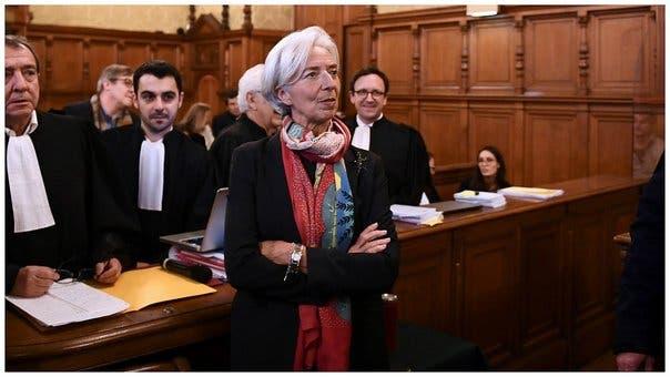 La directora-gerente del Fondo Monetario Internacional (FMI), Christine Lagarde. EFE.