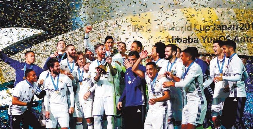 Real Madrid campeón mundial clubes con triplete de Ronaldo