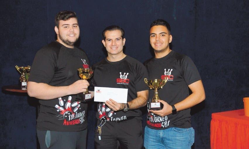 Cavallo y González campeones en el torneo aniversario de boliche