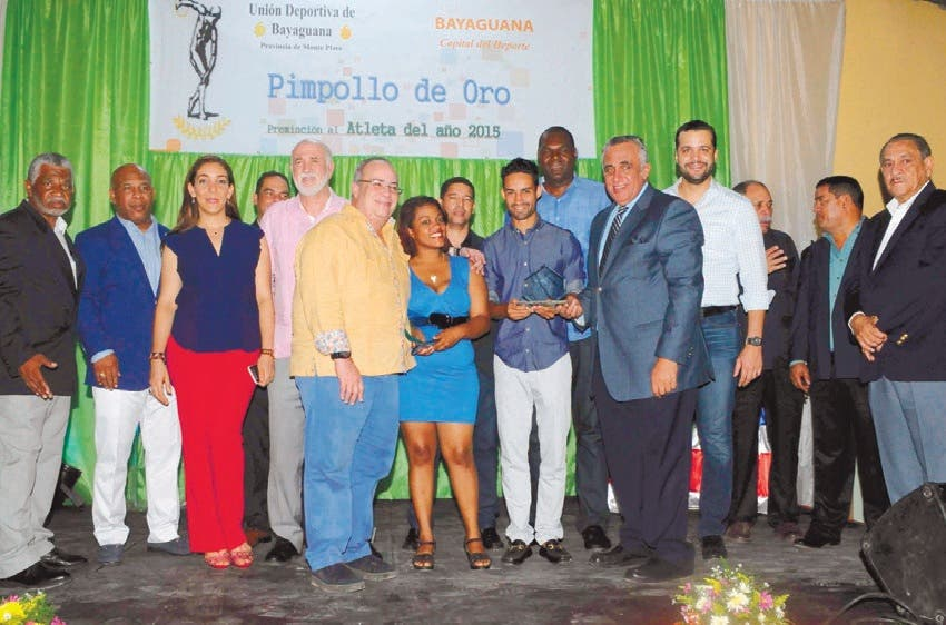 Luguelín y Wisaida Díaz, designados los Atletas del Año por el Pimpollo de Oro
