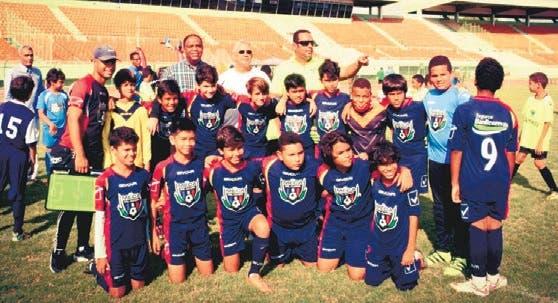 Inicia torneo de fútbol infantil y juvenil del DN con nueve equipos