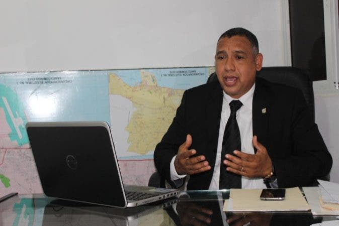 El diputado por el Partido Revolucionario Moderno (PRM), Alexis Isaac Jiménez.