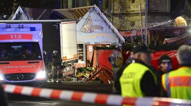 """La policía alemana habla de un """"presunto atentado terrorista"""" en Berlín"""
