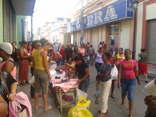 El comercio se reanima en Santiago