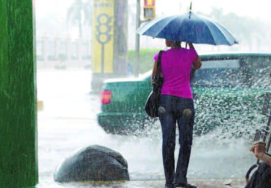 COE coloca cinco provincias en alerta amarilla y 15 en verde por lluvias