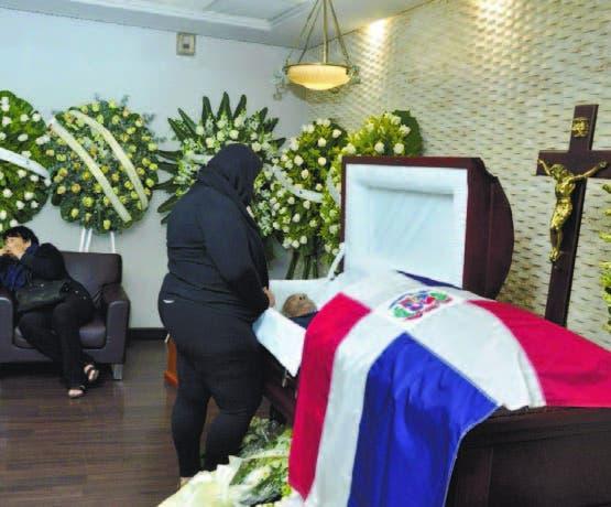 Mameyón fue sepultado en el Jardín Memorial