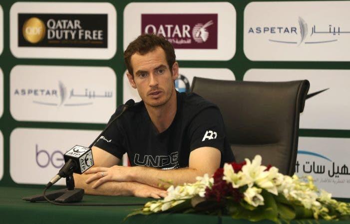El número uno de la clasificación mundial de tenis, el británico Andy Murray. AFP.