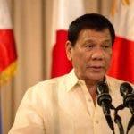 Rodrigo Duterte . AFP.