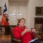 Michelle Bachelet. AFP.