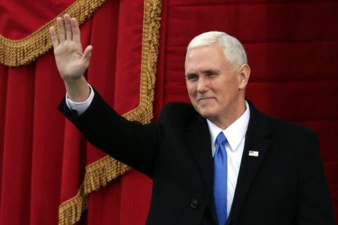 El Vicepresidente estadounidense Mike Pence.