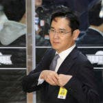 El presidente de grupo Samsung, Lee Jae-yong. AP.