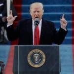 Presidente Donald Trump pronuncia su discurso tras prestar juramento como 45to presidente de Estados Unidos, Washington, viernes 20 de enero de 2017. (AP Foto/Patrick Semansky)