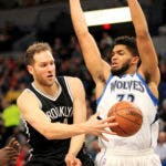Karl-Anthony Towns (32), de los Timberwolves .