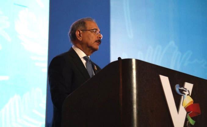 Danilo Medina ve con preocupación proteccionismo comerciales en escenarios globales