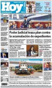 Edición impresa HOY (domingo 08 de enero , 2017