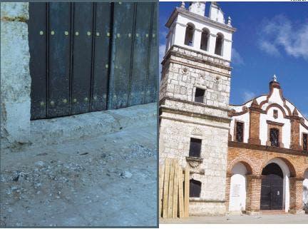 La Iglesia de Santa Bárbara, paralizada hace cuatro años