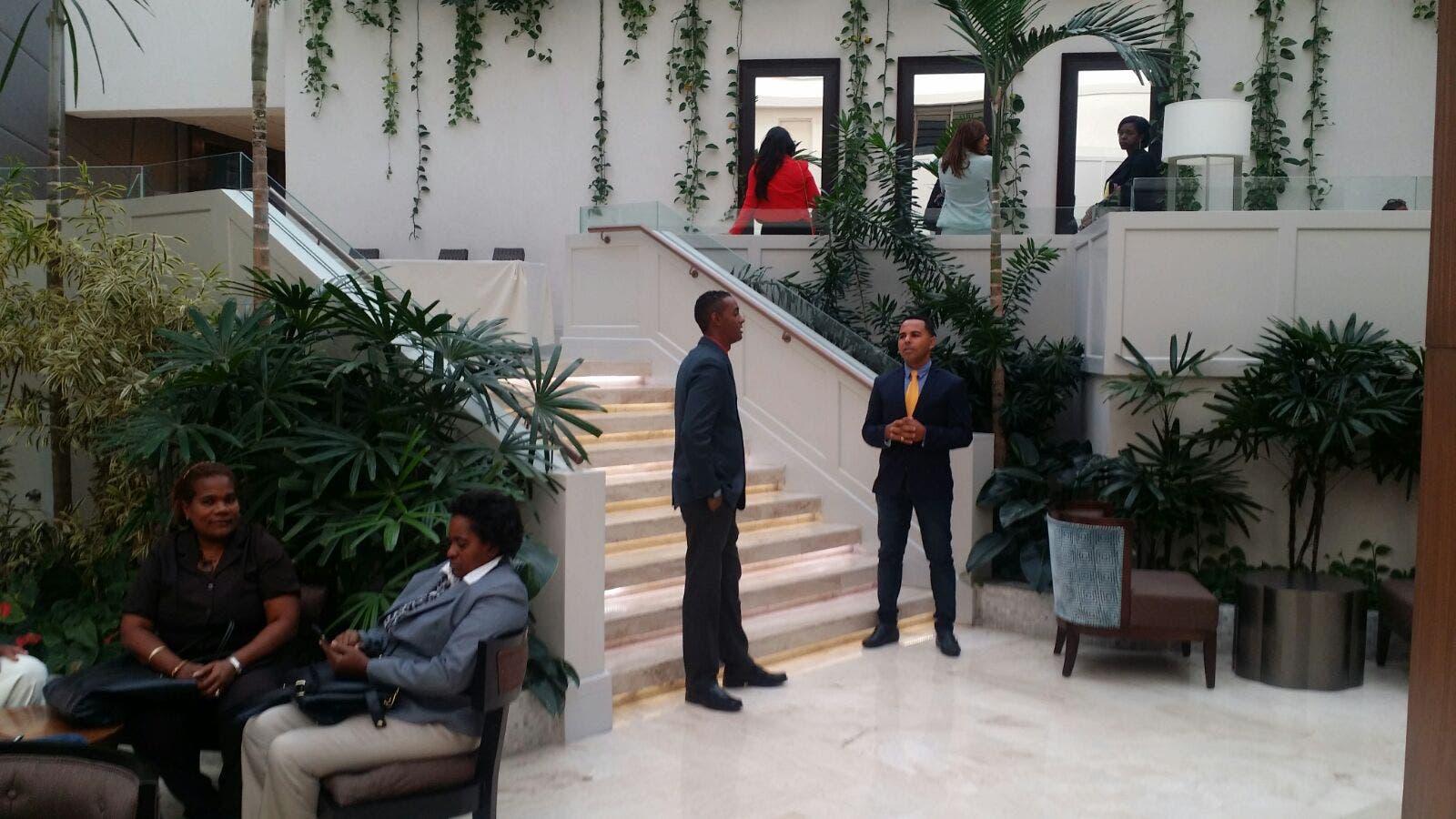 Estrictas medidas de seguridad en lugar donde se elegirá secretario Liga Municipal Dominicana