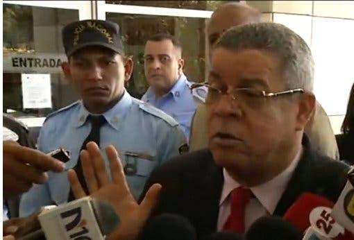 Caso Odebrecht: exfuncionario Gobierno Hipólito Mejía acudió hoy a Procuraduría
