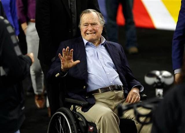 George H.W. Bush. AP.