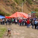 Santiago.- Productores agricola del parque Nacional Valle Nuevo dicen no ceder asta no llegar a un acuerdo con el gobierno. HOY     GERALDO CRUZ