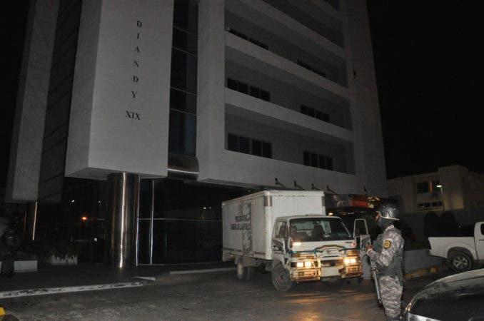 Allanamiento en Torre Diandino XIX, caso Odebrecht Fecha: 18-1-17 Fotos: José  Andrés De los Santos