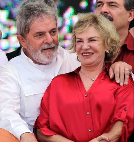 La esposa del expresidente Lula es ingresada por un derrame cerebral