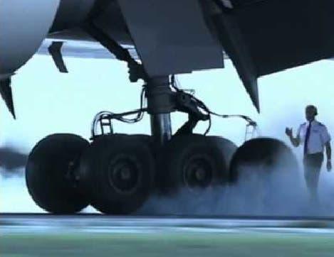 Neumático avión