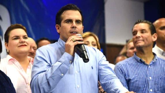Gobernador Ricardo Roselló/Fuente externa.
