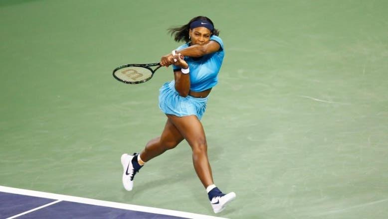 Serena Williams alcanza los octavos de final del Abierto de Australia