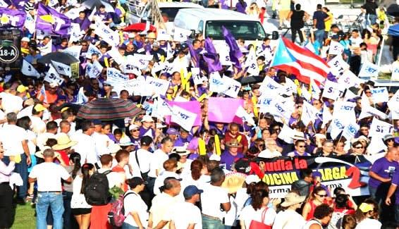 Los sindicatos puertorriqueños rechazan la reforma laboral del nuevo Gobierno
