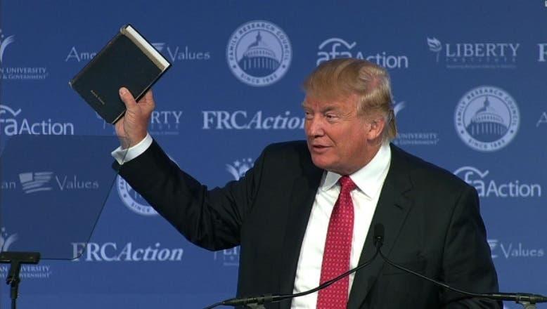 Conozca las dos Biblias sobre las cuales jurará este viernes Donald Trump