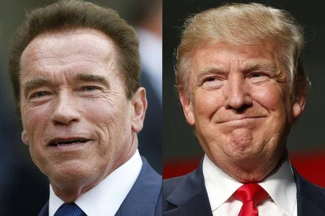 """Trump critica a Schwarzenegger, su sucesor en el programa """"The Apprentice»"""